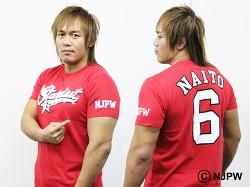 新日本プロレスリング/新日本プロレスリング/内藤哲也「No.6」Tシャツ