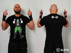 新日本プロレスリング/新日本プロレスリング/キン肉マンコラボ BULLET CLUB×ブロッケンJr. Tシャツ