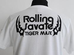 新日本プロレスリング/新日本プロレスリング/タイガーマスク「ROLLING SAVATE」Tシャツ