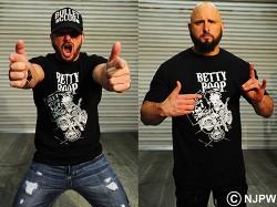 新日本プロレスリング/新日本プロレスリング/BULLET CLUB×ベティー ブープ(TM) コラボTシャツ