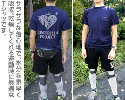 THE IDOLM@STER/アイドルマスター シンデレラガールズ/346プロ ドライTシャツ