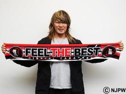 新日本プロレスリング/新日本プロレスリング/棚橋弘至「FEEL THE BEST」マフラータオル