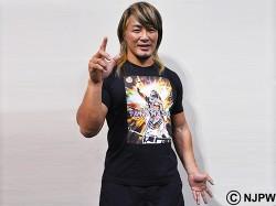 新日本プロレスリング/新日本プロレスリング/棚橋弘至×キング オブ プロレスリングTシャツ