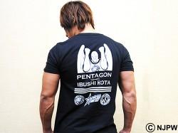 新日本プロレスリング/新日本プロレスリング/キン肉マンコラボDX 飯伏幸太×ペンタゴン「GOLDEN STAR」Tシャツ