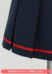 艦隊これくしょん -艦これ-/艦隊これくしょん -艦これ-/【早得】艦これ 白露型改二制服 共通スカート