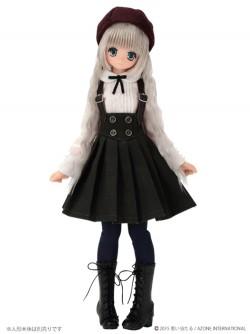 AZONE/Pureneemo Original Costume/POC349【1/6サイズドール用】こもれび森のお洋服屋さん♪「PNSおめかしコルセットプリーツスカート」セット