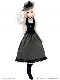 AZONE/50 Collection/FAR177【48/50cmドール用】BlackRavenClothing 夜想曲(ノクターン)ドレスセット
