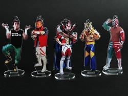 新日本プロレスリング/新日本プロレスリング/フィギュアシートキーホルダー 獣神サンダー・ライガー
