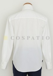 メーカーオリジナル/COSPATIOオリジナル/オリジナル襟高シャツ/白