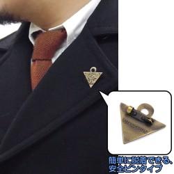 遊☆戯☆王/遊☆戯☆王デュエルモンスターズ/千年パズル ピンバッジ