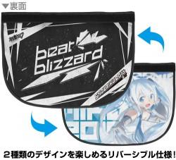 """初音ミク/SNOW MIKU 2016 presents """"Beat Blizzard""""/★限定★Beat Blizzard 雪ミク リバーシブルメッセンジャーバッグ"""