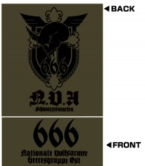 マブラヴ/シュヴァルツェスマーケン/第666戦術機中隊 黒の宣告M-65ジャケット