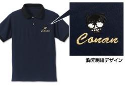 名探偵コナン/名探偵コナン/コナン刺繍ポロシャツ