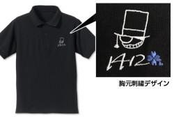 名探偵コナン/名探偵コナン/怪盗キッド刺繍ポロシャツ