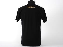 新日本プロレスリング/新日本プロレスリング/オカダ・カズチカVネックTシャツ(ブラック×ゴールドラメ仕様)