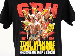 新日本プロレスリング/新日本プロレスリング/真壁刀義&本間朋晃「KING KONG KOKESHI」Tシャツ
