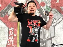 新日本プロレスリング/新日本プロレスリング/キン肉マンコラボ 矢野通×ステカセキング×ミスター・VTR Tシャツ
