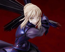 Fate/Fate/stay night/セイバーオルタ~卑王鉄槌(ヴォーディガーン)~ 1/7 ABS&PVC塗装済み完成品[再販]