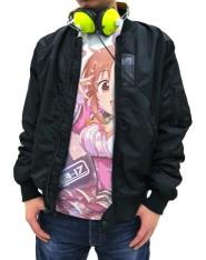 THE IDOLM@STER/アイドルマスター シンデレラガールズ/制服ウサミン 安部菜々フルグラフィックTシャツ