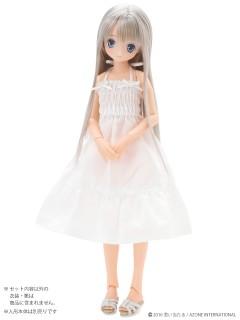 AZONE/Pureneemo Original Costume/POC337【1/6サイズドール用】こもれび森のお洋服屋さん♪「PNSリボンシャーリングワンピース」