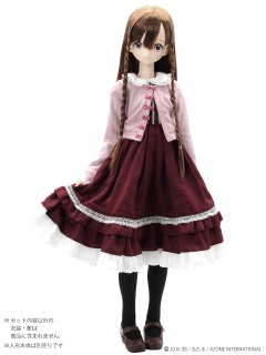 AZONE/50 Collection/FAR190【48/50cmドール用】50 ELLEN'S CLOSET 夢見る乙女のクラロリセット