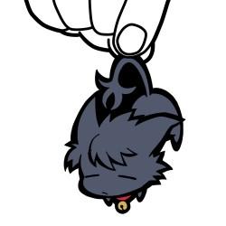 SERVAMP-サーヴァンプ-/TVアニメ「SERVAMP-サーヴァンプ-」/クロ つままれキーホルダー 黒猫Ver.