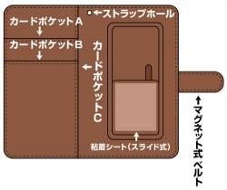 ダンガンロンパ/ダンガンロンパ3 -The End of 希望ヶ峰学園-/モノクマモノグラム 手帳型スマホケース