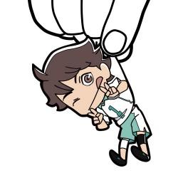 ハイキュー!!/ハイキュー!! 烏野高校 VS 白鳥沢学園高校/及川徹つままれストラップ