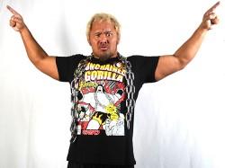 新日本プロレスリング/新日本プロレスリング/キン肉マンコラボ SP Edition 真壁刀義×バッファローマンTシャツ