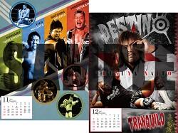 新日本プロレスリング/新日本プロレスリング/2017年 新日本プロレスカレンダー
