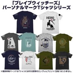 ストライクウィッチーズ/ブレイブウィッチーズ/サーシャ パーソナルマークTシャツ