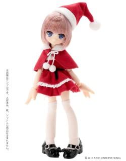 AZONE/ピコニーモコスチューム/PIC122-RED【1/12サイズドール用】1/12 もこもこサンタさんセット