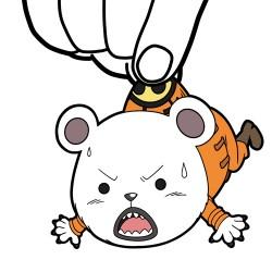 ONE PIECE/ワンピース/ベポつままれストラップ 2年前Ver.