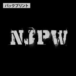 新日本プロレスリング/新日本プロレスリング/NJPWステンシルライオンマーク プルオーバーパーカー