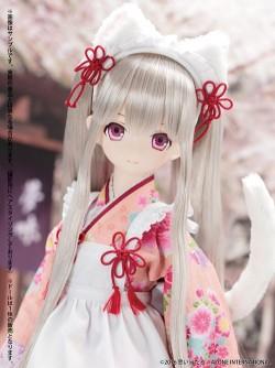 AZONE/ブラックレイヴンシリーズ/ブラックレイヴンシリーズ リリア/夢味茶屋~白まねき猫 AOD502-YLW