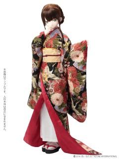 AZONE/Pureneemo Original Costume/FAO038【48/50cmドール用】AZO2 裾引き着物セット~絢爛華麗~