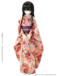 AZONE/Pureneemo Original Costume/PNM143【1/6サイズドール用】PNM 着物セット~桜花可憐~