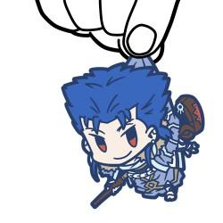 Fate/Fate/Grand Order/Fate/Grand Order キャスター/クー・フーリンつままれストラップ