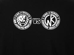 新日本プロレスリング/新日本プロレスリング/キン肉マンコラボ SP edition オカダ・カズチカ×アシュラマンTシャツ