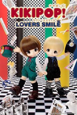 AZONE/KIKIPOP!/KIKIPOP! LOVERS SMILE マロンブラウン AKP001-KLM