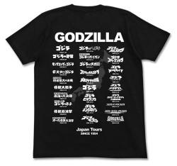 ゴジラ/ゴジラ/ゴジラツアーTシャツ