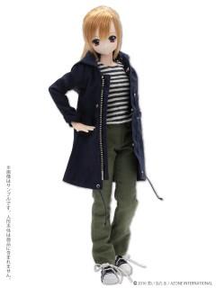 AZONE/Pureneemo Original Costume/POC387【1/6サイズドール用】PNS モッズコート