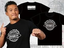 新日本プロレスリング/新日本プロレスリング/KUSHIDA「BOARDING PASS」Tシャツ