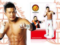 新日本プロレスリング/新日本プロレスリング/フィギュアシートキーホルダー KUSHIDA(2nd model)