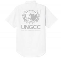 ゴジラ/ゴジラ/国連G対策センター オックスフォードシャツ(半袖)
