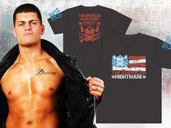 新日本プロレスリング/新日本プロレスリング/Cody「THE AMERICAN FLAG」Tシャツ