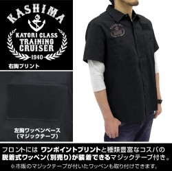 艦隊これくしょん -艦これ-/艦隊これくしょん -艦これ-/★限定★鹿島刺繍ワークシャツ