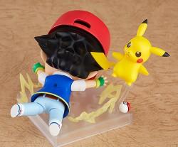 ポケットモンスター/ポケットモンスター/ねんどろいど サトシ&ピカチュウ ABS&PVC塗装済み可動フィギュア