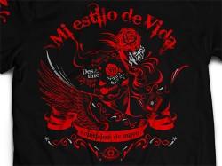 新日本プロレスリング/新日本プロレスリング/内藤哲也「Mi estilo de vida」Tシャツ