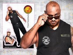 新日本プロレスリング/新日本プロレスリング/フィギュアシートキーホルダー バッドラック・ファレ(2nd model)